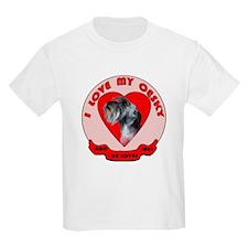 Cesky terrier Love Kids T-Shirt