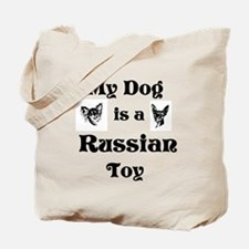Russian Toy Dog Tote Bag