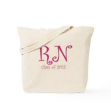 Cute Nursing class 2012 Tote Bag