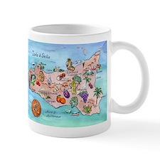 Sicilian Map Mug