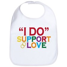 I Do Support Gay Marriage Bib