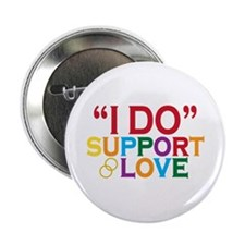 "I Do Support Gay Marriage 2.25"" Button"