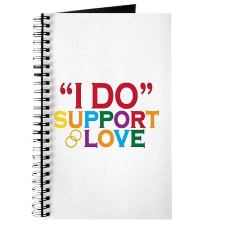 I Do Support Gay Marriage Journal
