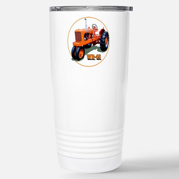 Cute Tractor Thermos Mug