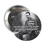 Albert Camus Philosophy Quote Button