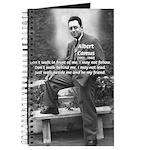 Albert Camus Philosophy Quote Journal