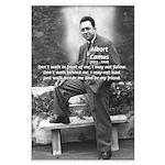 Albert Camus Philosophy Quote Large Poster