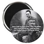 Albert Camus Philosophy Quote Magnet