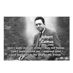 Albert Camus Philosophy Quote Postcards (Package o