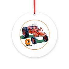 Cool Farmer Ornament (Round)
