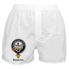 Harperson Clan Crest Badge Boxer Shorts