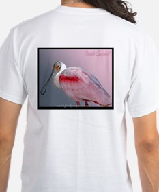 Roseate Spoonbill T-Shirt (white)