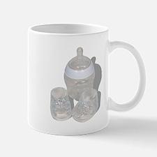 Baby Bottle and Booties Mug