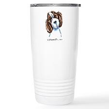PBGV Portriat Travel Mug