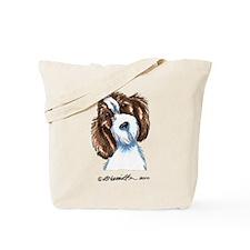 PBGV Portriat Tote Bag
