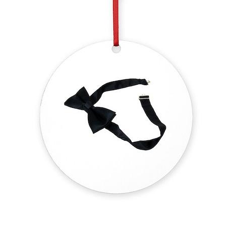 Bow Tie Ornament (Round)