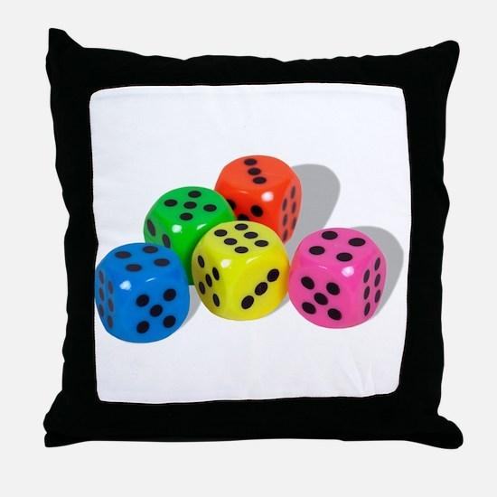 Bright Chances Throw Pillow