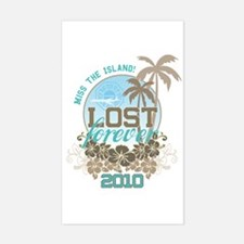LOST forever Sticker (Rectangle)