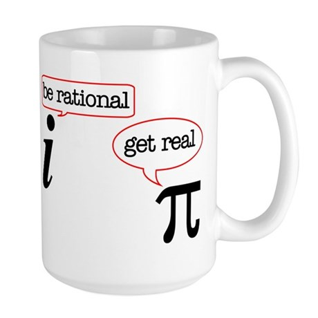 Rational-Real Large Mug