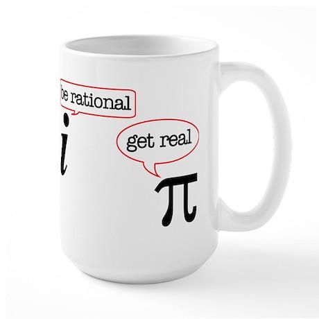 Rational-Real Large Mug
