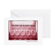 Kinnick Pink Greeting Card