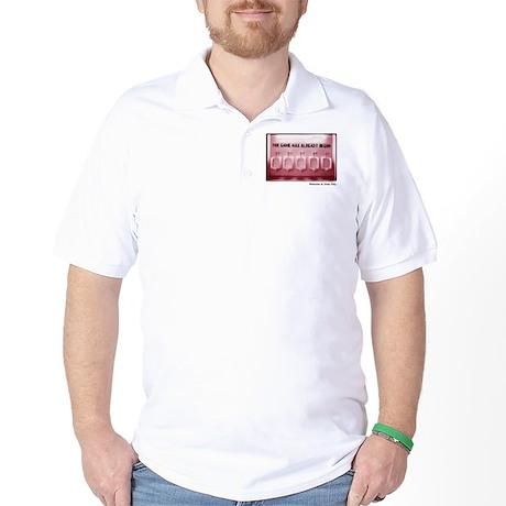 Kinnick Pink Golf Shirt