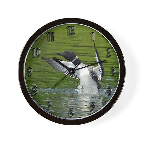 Beautiful Loon Wall Clock