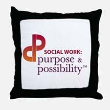 Purpose and Possibility Throw Pillow