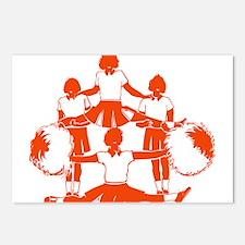 CHEER *1* {orange} Postcards (Package of 8)