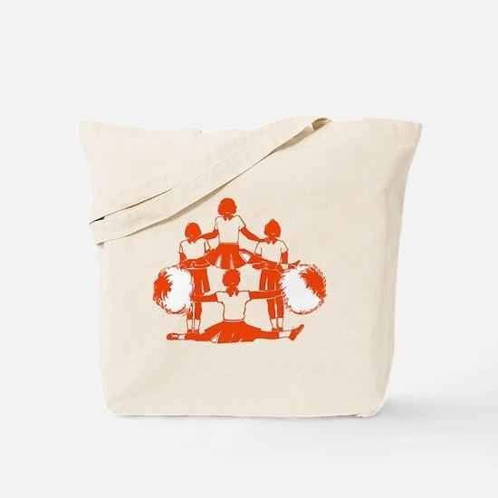 CHEER *1* {orange} Tote Bag