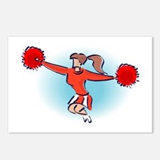 CHEER *2* {red} Postcards (Package of 8)