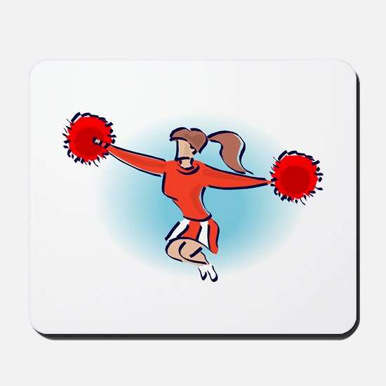 CHEER *2* {red} Mousepad