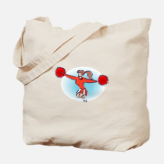CHEER *2* {red} Tote Bag