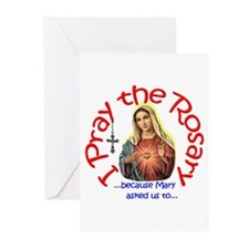 Pray the Rosary - Greeting Cards (Pack of 20) (g)