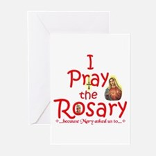 Pray the Rosary - Greeting Cards (Pack of 20) (f)