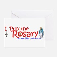 Pray the Rosary - Greeting Cards (Pk of 20) (e)