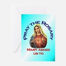 Pray the Rosary - Greeting Cards (Pack of 20) (c)