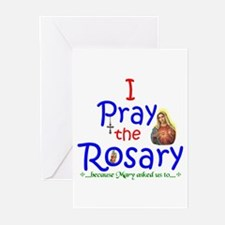 Pray the Rosary - Greeting Cards (Pack of 20) (a)