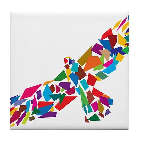 Bird in Flight Tile Coaster