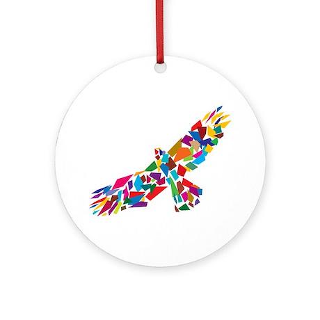 Bird in Flight Ornament (Round)