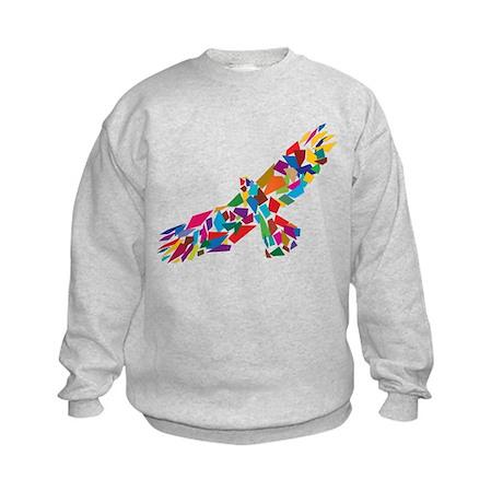 Bird in Flight Kids Sweatshirt