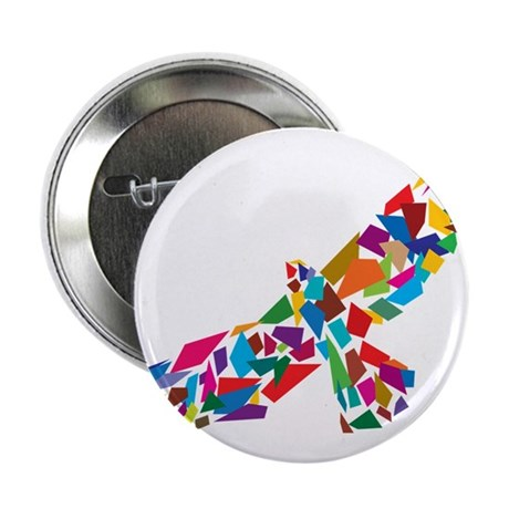 "Bird in Flight 2.25"" Button (100 pack)"
