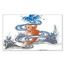 Koi Pond Decal