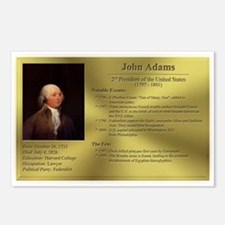 02: John Adams Postcards (8 Pack)