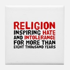 Death by Religion Tile Coaster