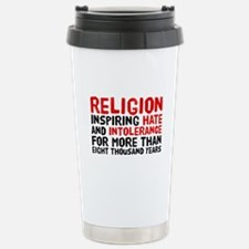 Death by Religion Stainless Steel Travel Mug