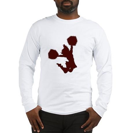 CHEER *10* {crimson} Long Sleeve T-Shirt