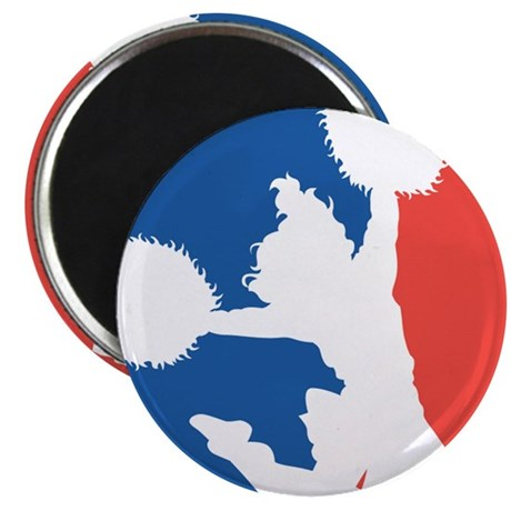 """CHEER *11* {red/white/blue} 2.25"""" Magnet (10 pack)"""