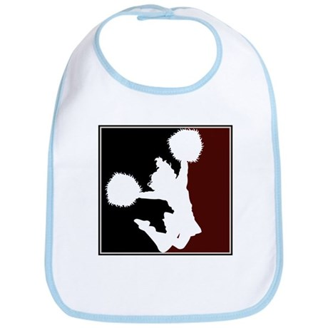 CHEER *11* {crimson/black/whi Bib