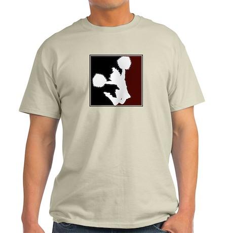 CHEER *11* {crimson/black/whi Light T-Shirt